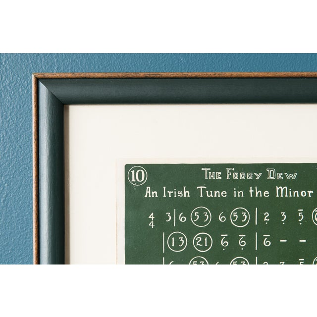 Antique Framed 1920's Music Lesson - Image 6 of 6