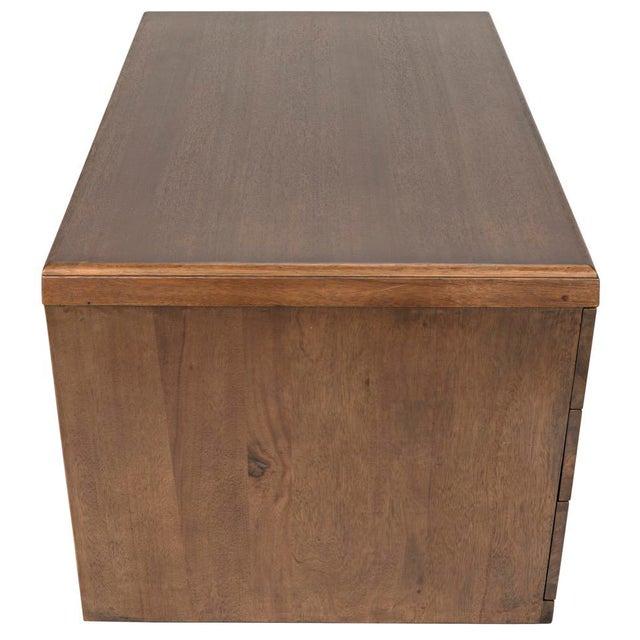 Tetramo Desk, Dark Walnut For Sale - Image 10 of 13