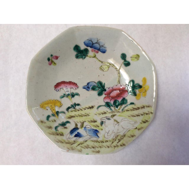 C. 1800's Chinese Decorative Plates - A Pair - Image 4 of 8