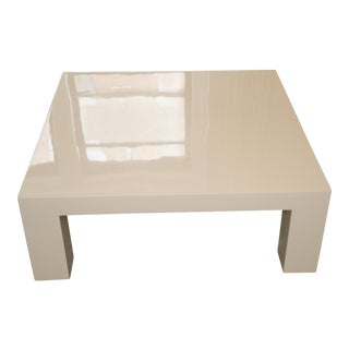 Jonathan Adler Lacquer Coffee Table