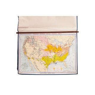 Vintage Denoyer Geppert Map For Sale