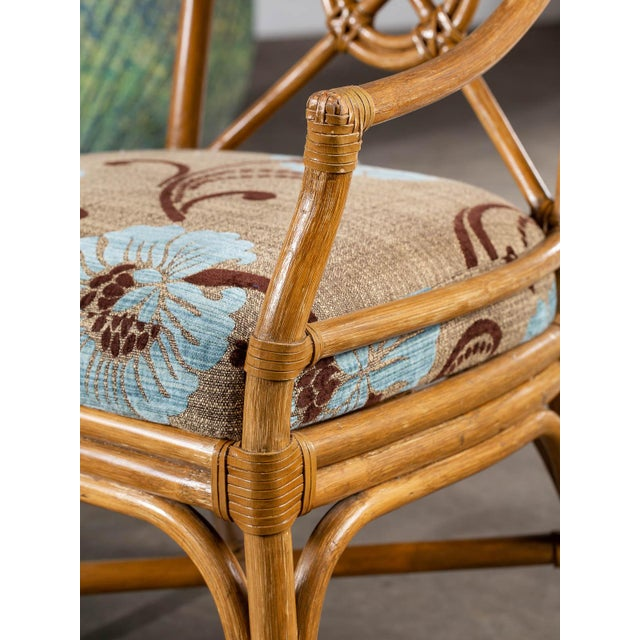 1970s 1970s Vintage McGuire Bamboo Target Design Chairs - a Pair For Sale - Image 5 of 13