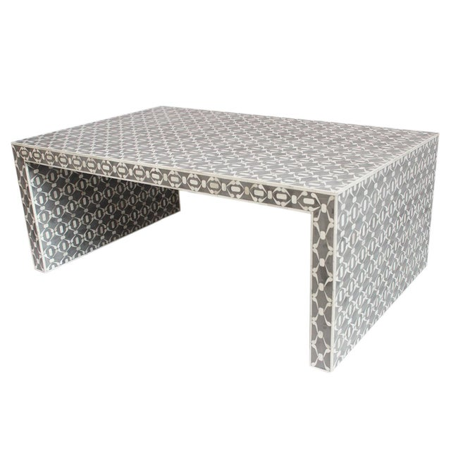 Grey Inlay Coffee Table - Image 1 of 2