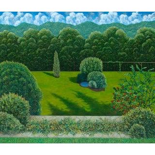 Alaniesse Garden, Limited Edition Pigment Print, Scott Kahn - SIGNED For Sale