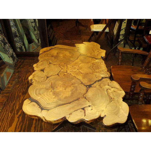 Customizable Book Matched Banyan Table - Image 5 of 6