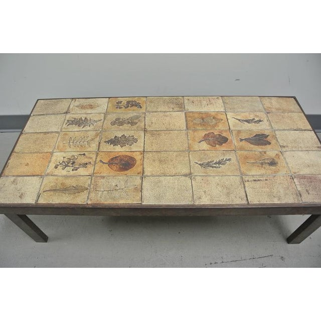 Roger Capron Garrigue Tile Coffee Table by Roger Capron For Sale - Image 4 of 10