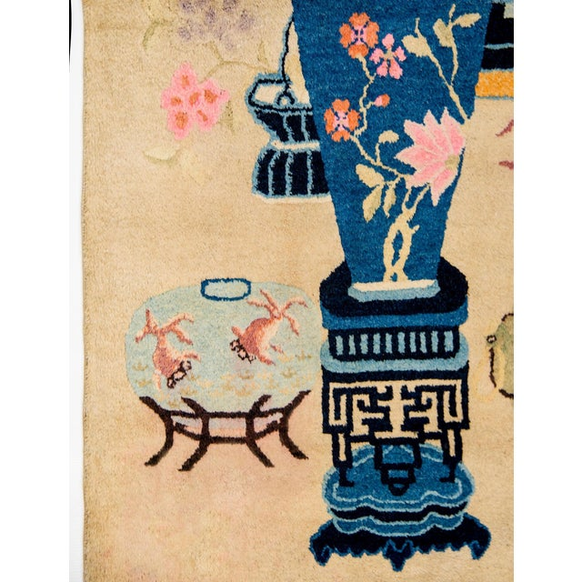 Early 20th Century Chinese Art Deco Rug For Sale - Image 4 of 8