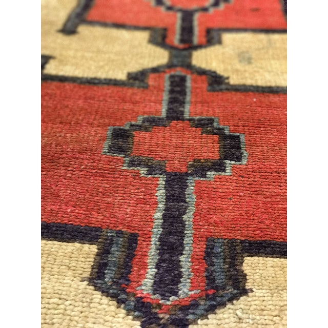 Bellwether Rugs Tribal Pattern Vintage Turkish Oushak Rug - 2′10″ × 12′3″ - Image 6 of 11
