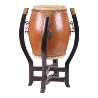 Drum Form Drinks Table For Sale