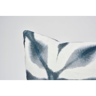 Schumacher Double-Sided Pillow in Andromeda Linen Print Preview