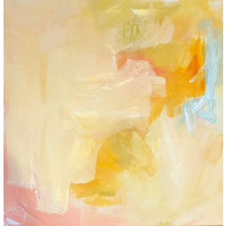 Pink Abstract 3 by Hayley Price For Sale