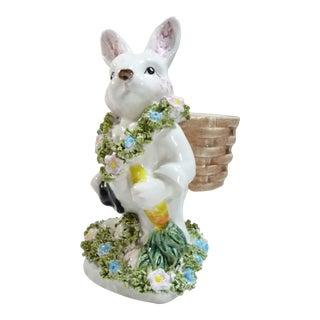 White Porcelain Rabbit Vase
