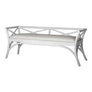 Charlotte Bench - White For Sale
