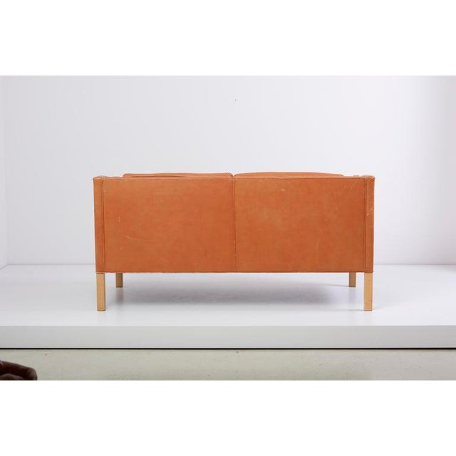 1960s Sofa 2212 by Børge Mogensen for Fredericia, Denmark For Sale - Image 5 of 10