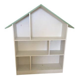 Children's Handmade Dollhouse Bookcase For Sale