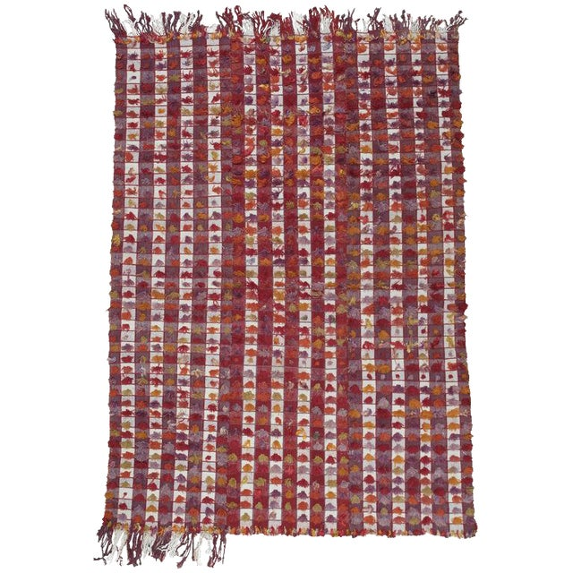 Pardah (curtain) with poms For Sale