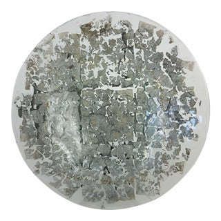 Evans Designs Decorative Glass Plate For Sale