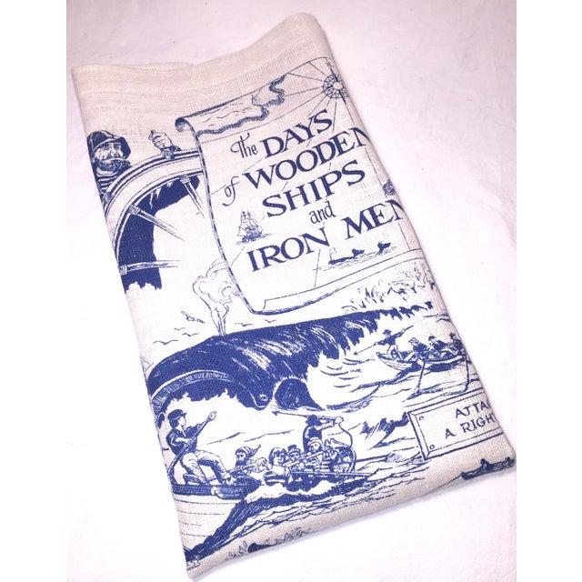 Wooden Ships & Iron Men Tea Towel - Image 2 of 6