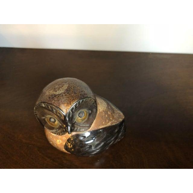Mid-Century Otagiri Omc Retro Vintage Ceramic Owl For Sale In San Diego - Image 6 of 8
