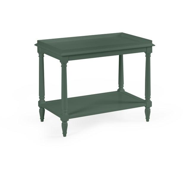 Transitional Casa Cosima Revere Side Table, Dakota Shadow For Sale - Image 3 of 3