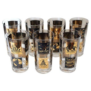 Seven Wonders Highball Glasses - S/7