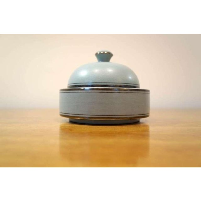 Aria series Deco box for Gustavsberg By Wilhelm Kage. Though best known as one of Sweden's greatest ceramists, Wilhelm...