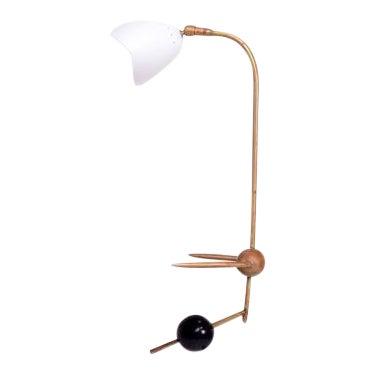 Italian Desk Table Counterbalance Lamp For Sale