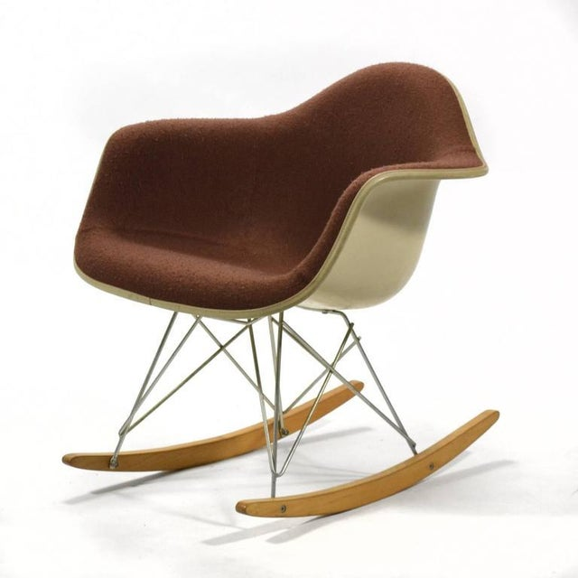 If an employee of Herman Miller were to have a child, they were given an Eames RAR rocking chair to commemorate the birth....