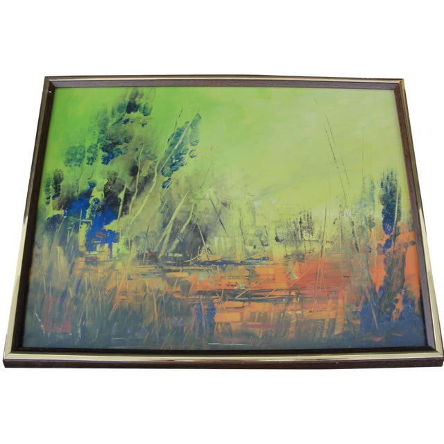 Abstract Painting by Cliff Freeland - Image 1 of 10