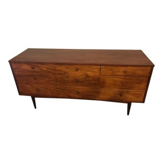 1960s Mid Century Modern Dixie Lowboy Dresser For Sale