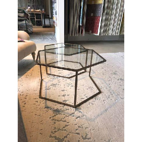 Contemporary Nesting Cocktail Tables - A Pair For Sale In Boston - Image 6 of 7