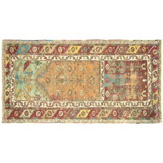 "Mid-19th-Century Ladik Rug - 3'6"" X 6'9"" For Sale"