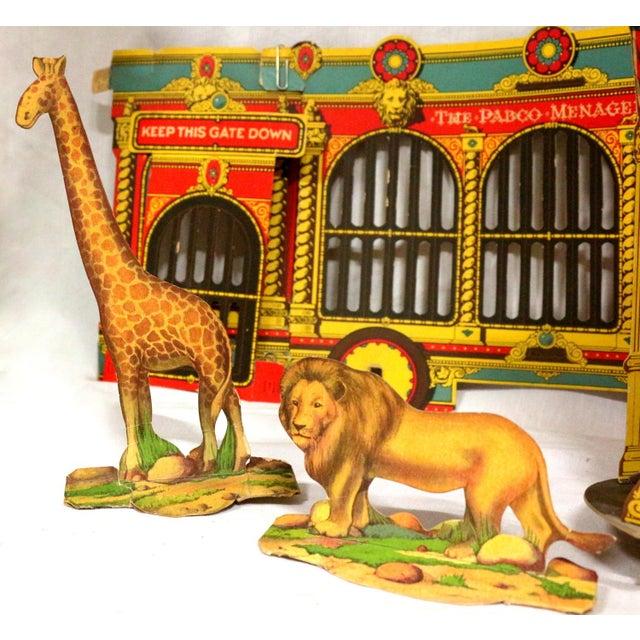 Antique 1920s Paper Circus Game Set - Image 4 of 9