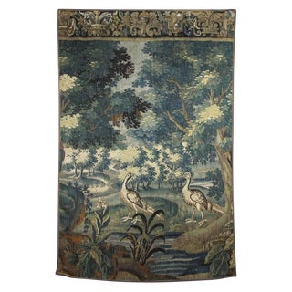 Flemish Verdure Tapestry For Sale