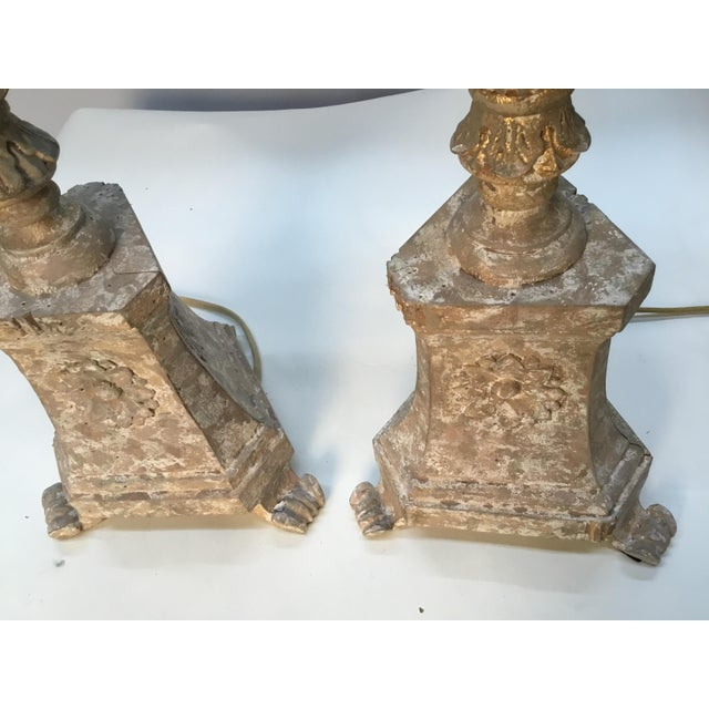 "Vintage Aidan Gray ""Great Cathedral "" Table Lamps - a Pair For Sale In Providence - Image 6 of 11"