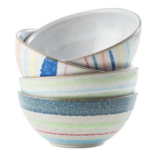 Cantina Ceramic Bowls - Set of 4 For Sale