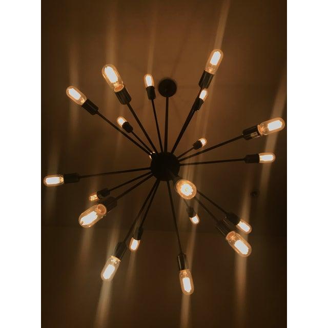Mid century sputnik filament chandelier chairish mid century sputnik filament chandelier image 3 of 4 aloadofball Images