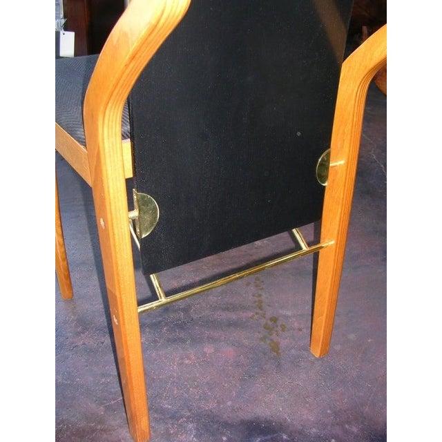 Pierre Cardin 1980s Vintage Pierre Cardin Chair For Sale - Image 4 of 5