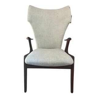 Kurt Ostervig Rosewood High-Back Chair