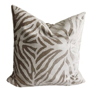 Transitional Room & Board Galbraith Pillow For Sale