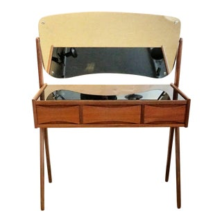 1960s Vintage Danish Vanity Table