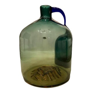 "2003 Dave Osborn Blenko ""Birthday Piece"" Jug For Sale"