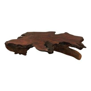 Organic Nakashima Style Root Wood Coffee Table