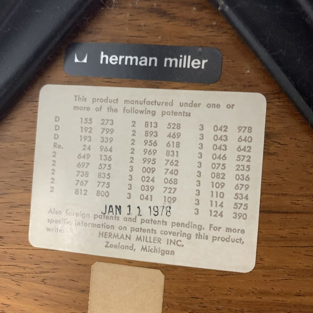 1970s Vintage Herman Miller Eames Lounge Chair For Sale - Image 10 of 10