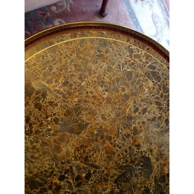 Maitland-Smith Circular Coffee Table - Image 5 of 5