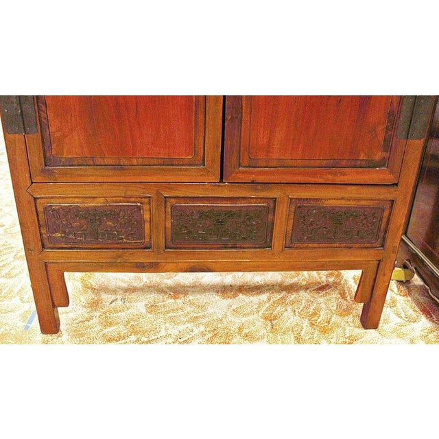 Chinese Armoire Cabinet For Sale - Image 4 of 9