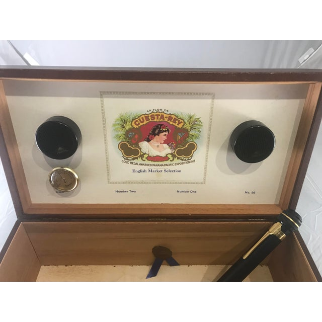 1980s Traditional Cuesta-Rey Cigar Humidor For Sale - Image 4 of 12