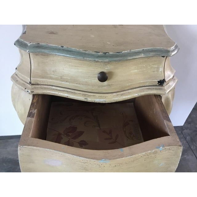 French Bombay Style Night Stand For Sale In Los Angeles - Image 6 of 11