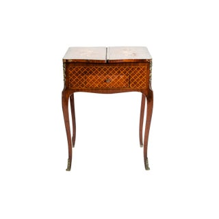 Kingwood Marquetry Vanity Table For Sale