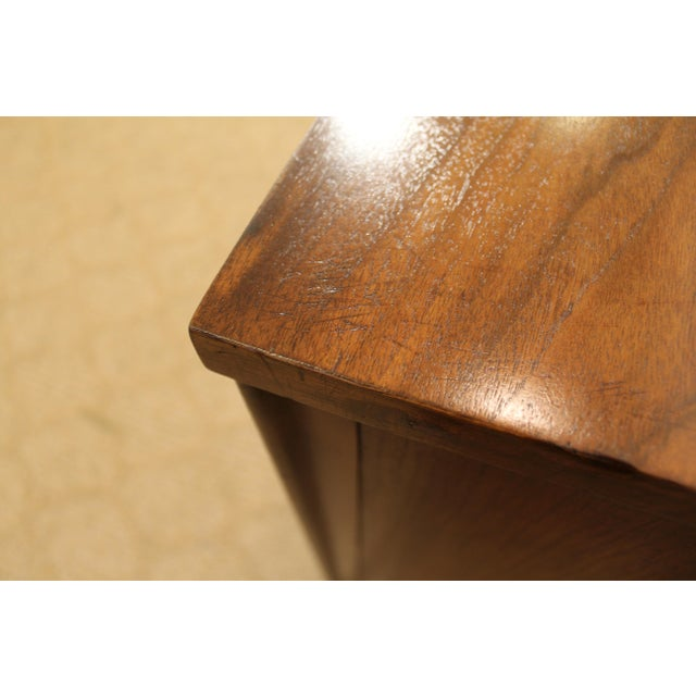 Black Kent Coffey Perspecta Walnut/Rosewood Credenza For Sale - Image 8 of 12